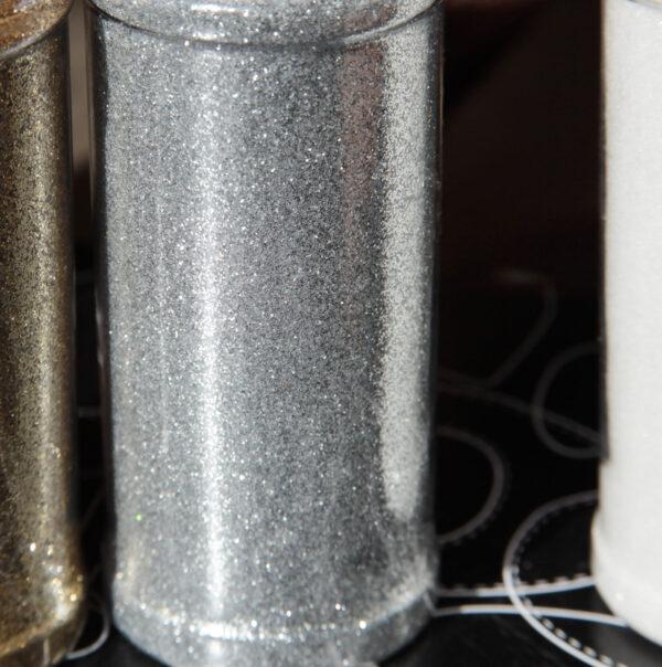 glitter argento fine brillantini lustrini 95 grammi 2