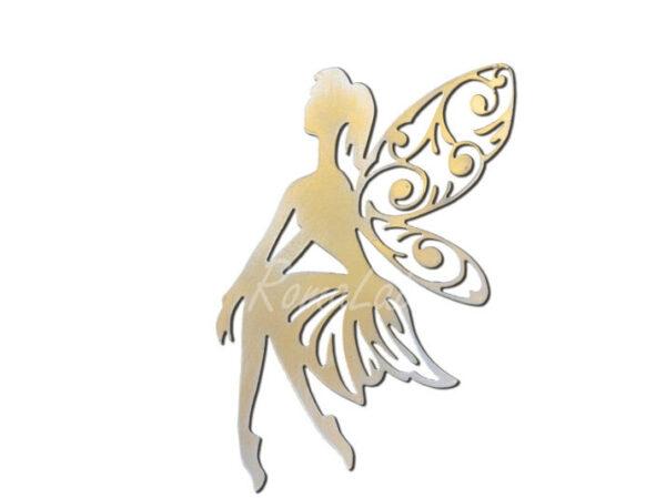 FUSTELLA PER BIG SHOT SIZZIX Thinlits Die Fanciful Fairy fata fatina