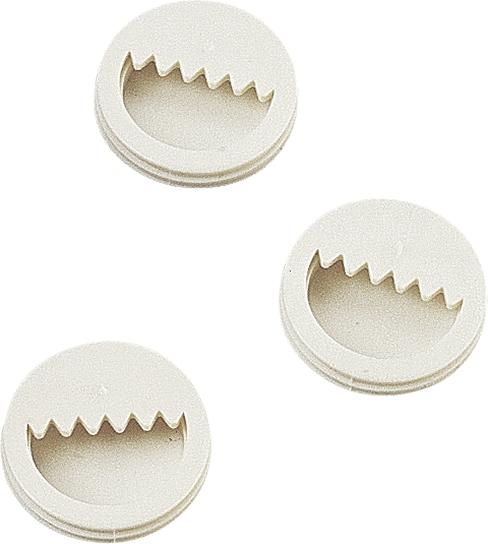 213913000 10 gancetti in plastica solida per colate knorr prandell per appendiere
