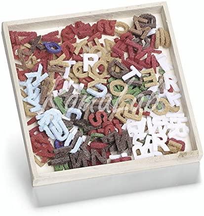 250 decorazioni lettere feltro