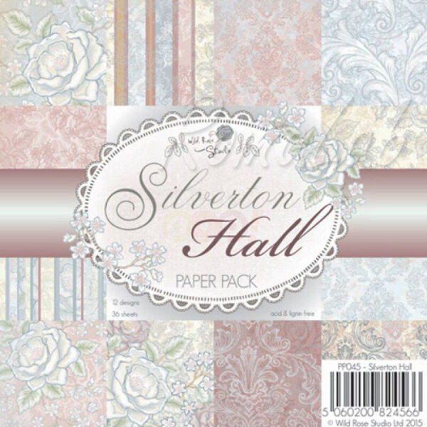 36 FOGLI STAMPATI 152 x 152 cm a tema rose SCRAPBOOKING Paper Bloc Silverton 302311266478