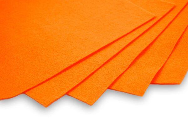 feltro arancio arancione.mandarino 60 70 spessore 2mm