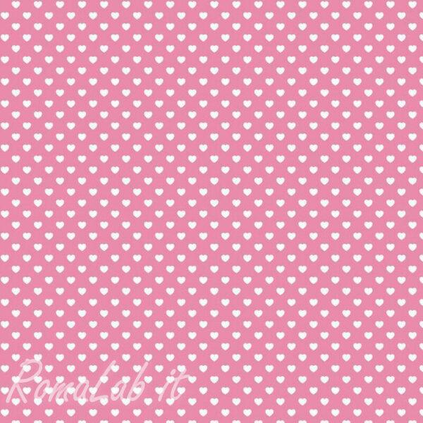 1 foglio di feltro rosa a cuori 1 mm 30 x 30 cm pannolenci scrapbooking 292190166940