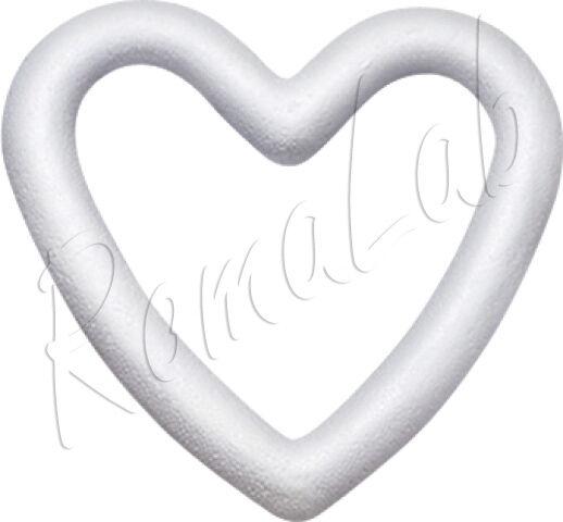 1 ghirlanda a cuore 14 cm in polistirolo da decorare patchwork decoupage corona 291801079820