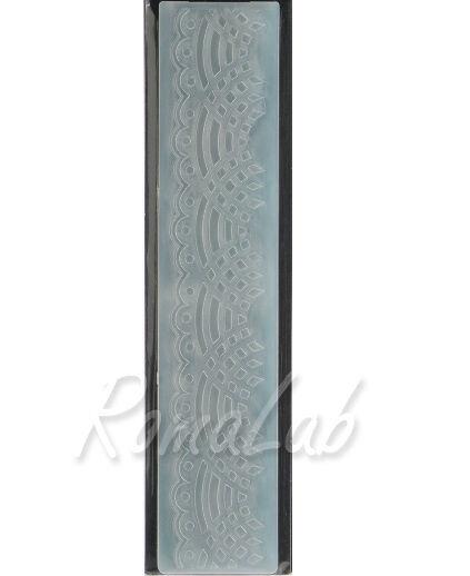 MASCHERINA Embossing FOLDER BORDI bordo decorato come nastrino per BIG SHOT plus 291808362400