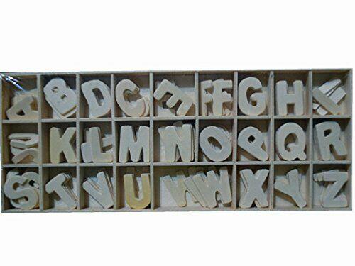 156 DECORAZIONI IN LEGNO lettere dellalfabeto A z ORNAMENTI SCRAPBOOKING 31 cm 303869539261