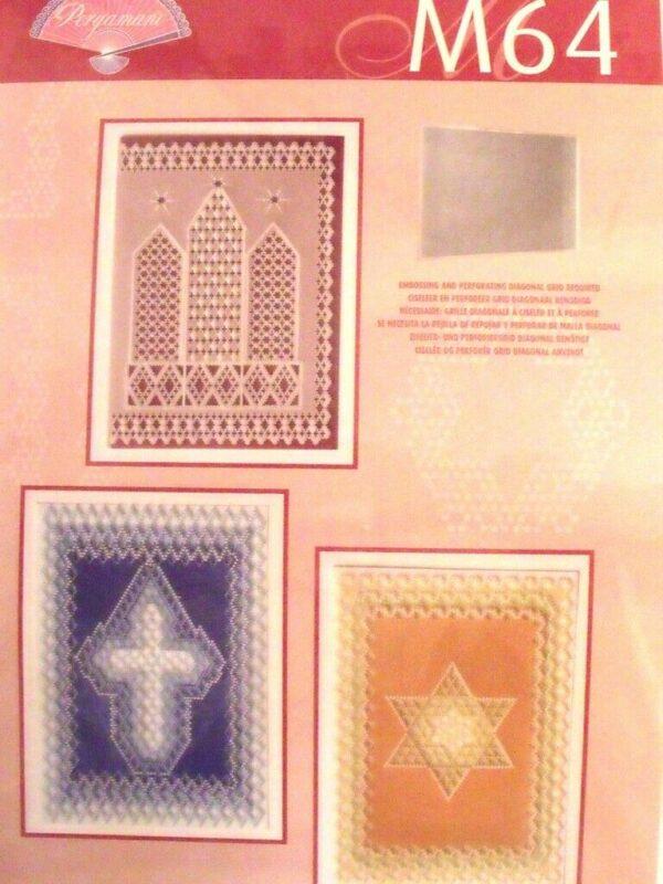 6 SCHEMI M64 PERGAMANO design religioso PER cresima comunione idee creative 303055703961