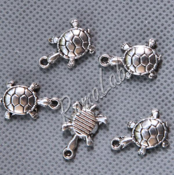 6 ciondoli tartaruga ARGENTO TIBETANO CHARM CIONDOLO tartarughe PENDENTE 291556976331