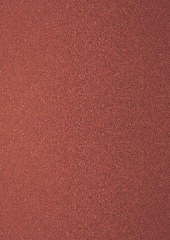 Foglio A4 di carta glitter colore rosso red CARD SCRAPBOOKING cartoncino glit 302382320761