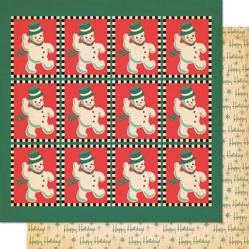 1 FOGLIO DI CARTA Thumpity Thump Dear Mr Claus natalizia SCRAPBOOKING 30 cm 302002286222