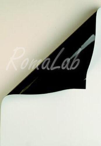 2 FOGLI dI carta magnetica bianca A4 21 x 297 cm per SCRAPBOOKING arte 292155097802