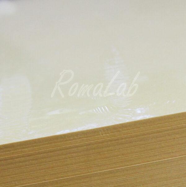 3 FOGLI in cartoncino color giallo chiaro A4 220 grm2 SCRAPBOOKING BIGLIETTINI 302002203112