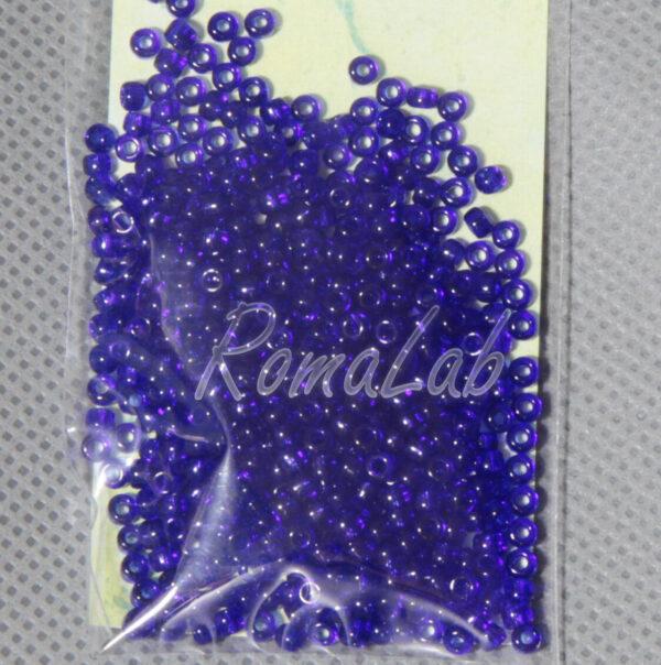 6 GRAMMI ROCAILLES VETRO 10 0 22 MM blu scuro per embroidery incastonare 301824176152