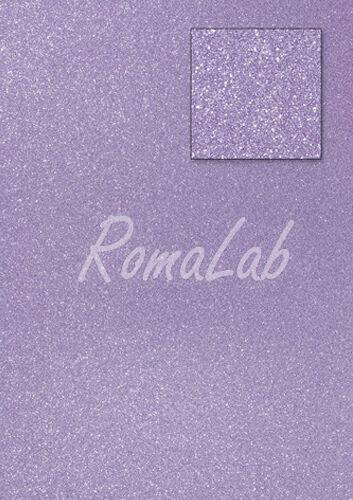 Foglio A4 carta glitter colore lavanda CARD SCRAPBOOKING cartoncino glitterato 291747076012