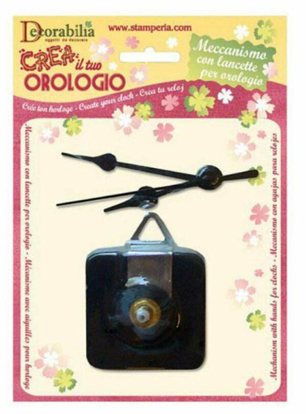 KIT OROLOGIO MECCANISMO E LANCETTE PER DECOUPAGE Mechanism Hands FOR CLOCKS 303058181422