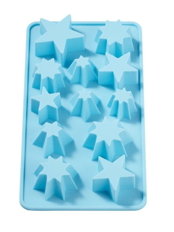 STAMPO IN SILICONE uso alimentare stelle stelline pandoro x gessi molds 302479271532