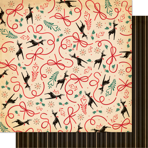1 FOGLIO DI CARTA Wish List Dear Mr Claus CARTONAGGIO SCRAPBOOKING 30 cm NATALE 302002286483