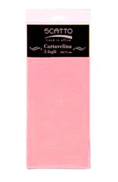 5 FOGLI di CARTA VELINA SCATTO 50X75 CM 17 GR colore rosa intenso per fioristi 292212466083