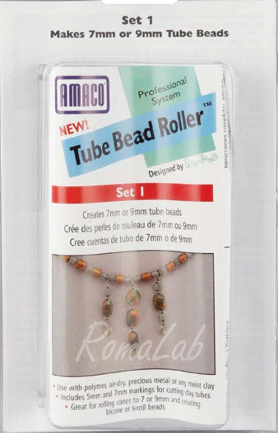 Bead roller set 1 UTENSILE 2 tipi diversi di PERLE E PERLINE FIMO CERNIT PREMO 302002182673
