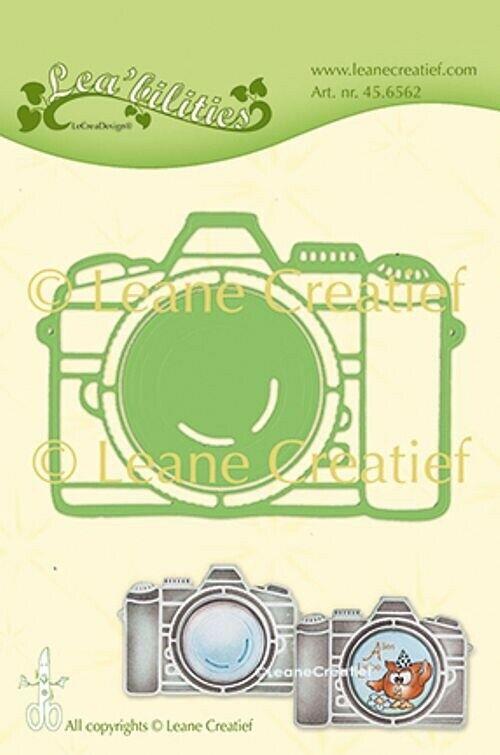 FUSTELLA MACCHINA FOTOGRAFICA Leabilities Leane Creatief compatibile con Big 293577220143