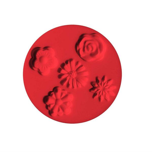 Piccolo stampo in silicone fiori fiore formina nastrini stampino Fimo Staedtler 302984792233