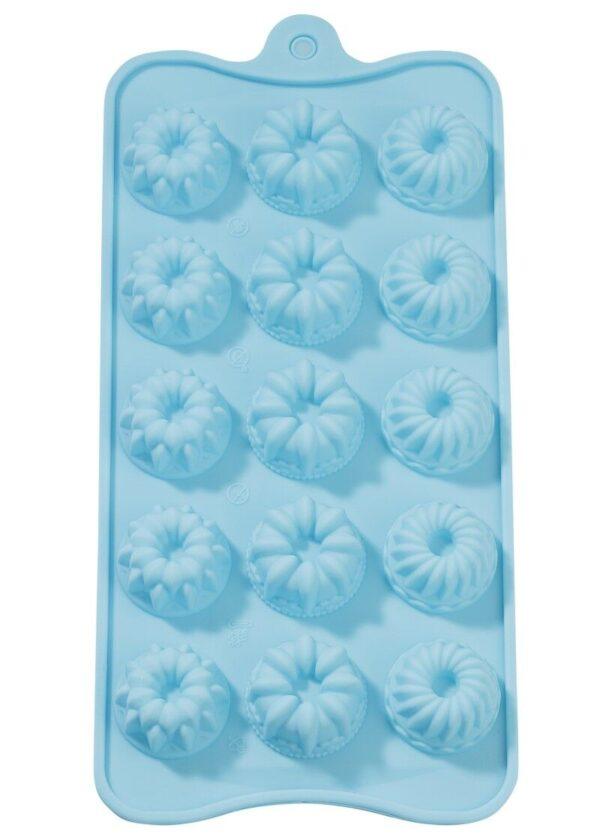 STAMPO IN SILICONE alimentare mini ciambelle dolcetti cioccolattini x gessi m 302608894463