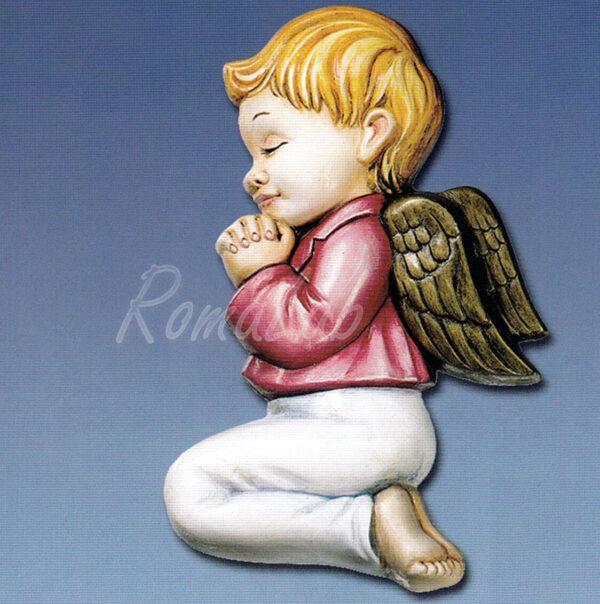 STAMPO con 1 FORMINA a forma di bambino angioletto in ginocchio che prega STAMPI 291808305873