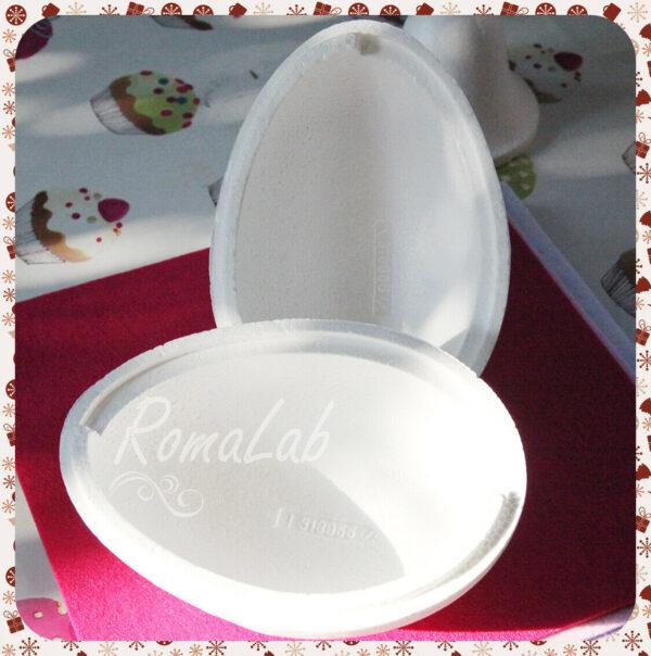 Uovo apribile in polistirolo 21 cm da decorare uova PASQUA per patchwork poli 303716963463