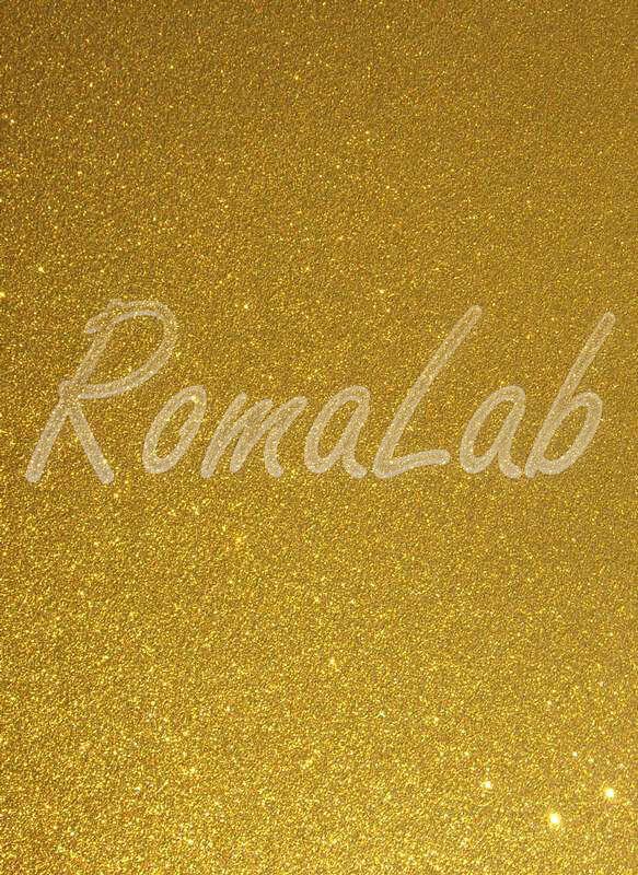 Foglio A4 di carta glitter color oro scuro SCRAPBOOKING cartoncino glitterato 302000183974