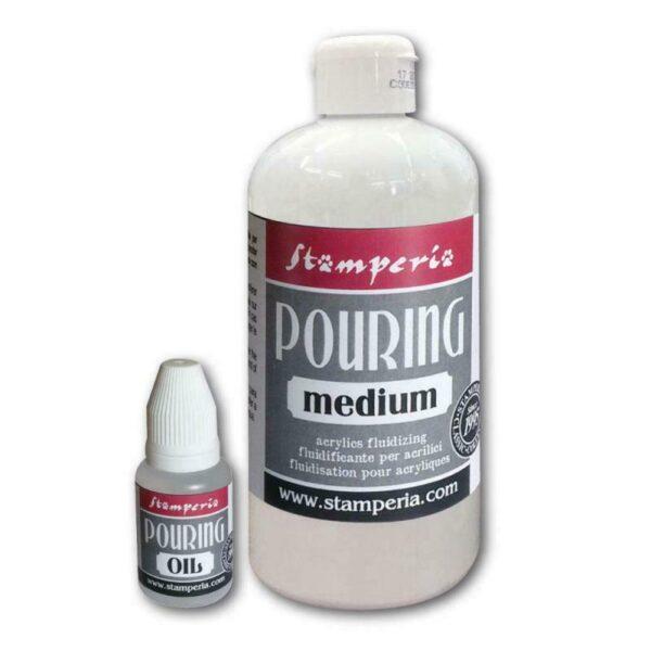 Kit per Pouring 1 Medium da 500 ml ed un flacone di olio da 20 ml 303568746624