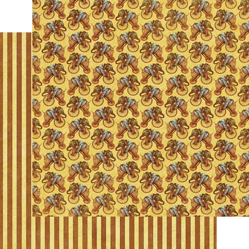 1 FOGLIO DI CARTA Circus Parade Le Cirque Collection SCRAPBOOKING 30 cm il 291808458495