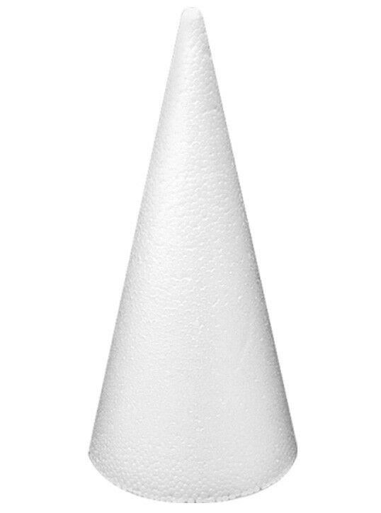 1 cono 20 cm in polistirolo da decorare Natale patchwork decoupage avvento 302487916175