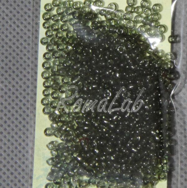 6 GRAMMI ROCAILLES VETRO 10 0 22 MM antracite per embroidery incastonare 291637706365