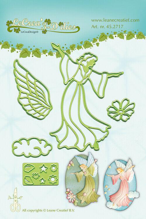 Set da 5 FUSTELLE angelo fata fatina dies compatibili con Big Shot ali angeli 293576421775