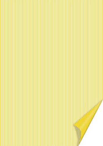 20 FOGLI in cartoncino A4 stampato a righe gialle e bianche x SCRAPBOOKING 292294544836