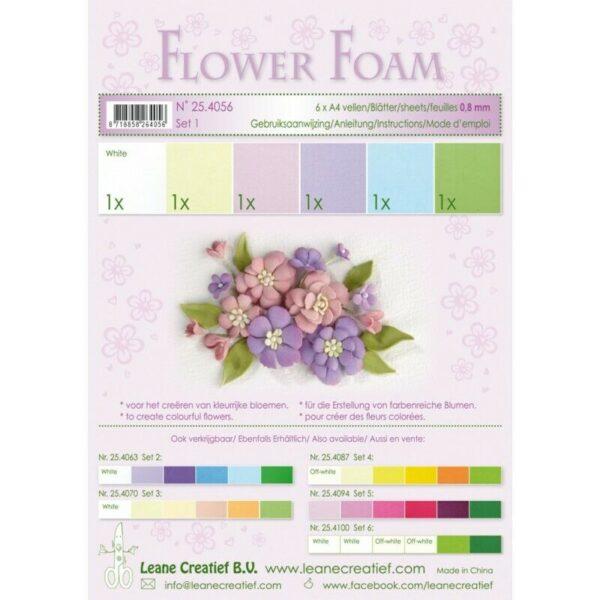 6 FOGLI di foamiran A4 colori pastello spessore 08 mm MOOSGUMMI x fiori 293818013416