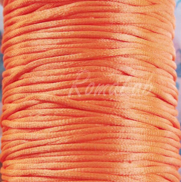 6 MT FILO CODINO DI TOPO CORDONCINO 2 mm coda arancione BOMBONIERE GIOIELLI 291332056336