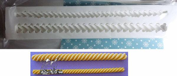 Alphabet Moulds Stampo in silicone per decorazioni di dolci motivo Barley 292515003926