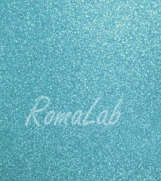Foglio A4 di carta glitter color azzurro CARD SCRAPBOOKING cartoncino glitterato 291746369056