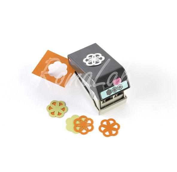 PUNCH PERFORATORE multiplo 3 FORME DIVERSE per FIORE 3D EK tools SCRAPBOOKING 291805545006