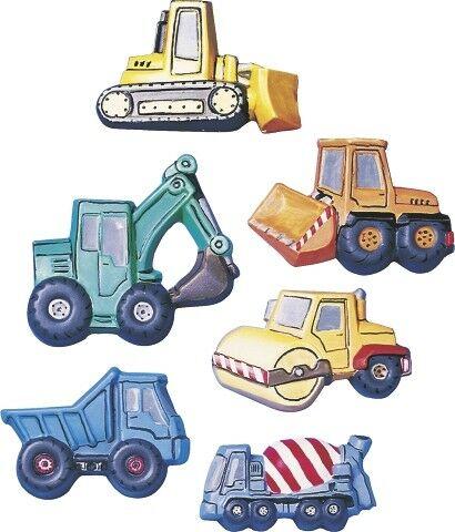 STAMPO 6 forme edilizia veicoli per costruzione FORMINE molds camion betoniera 303032289086