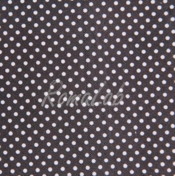 STOFFA 150 x 100 CM PER CUCITO creativo patchwork SCRAPBOOKING nero a pois 291808361836