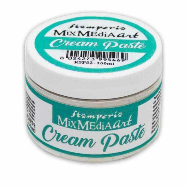 150 ml Cream Paste Pasta Scultura morbida bianca opaca per decorazioni White 303667995067