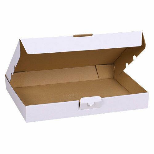 2 scatole DI CARTONE fustellate BIANCHE 32 x 225 x 5 cm per spedizioni imbal 293078309517