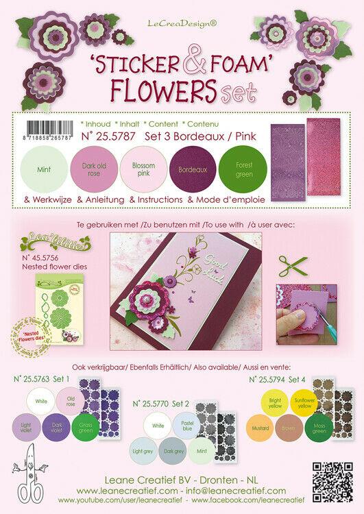 5 FOGLI di foamiran A4 colori misti SPESSORE 08 mm adesivi per fiori foam 293576788887