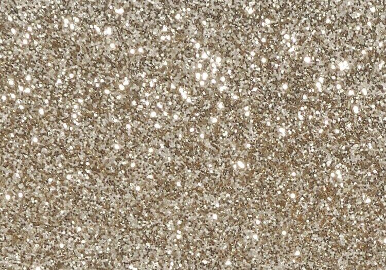 Flacone maxi da 95 grammi di glitter bianco brillantini confezione risparmio