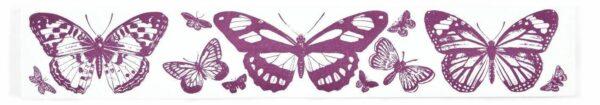 Maxi TIMBRO con motivo a farfalle IN GOMMA Aladine STAMP SCRAPBOOKING per bordi 302129612617
