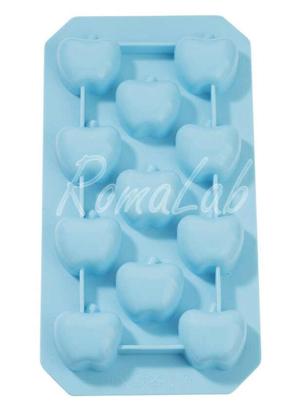 STAMPO IN SILICONE uso alimentare mele x gessi molds 291816123067