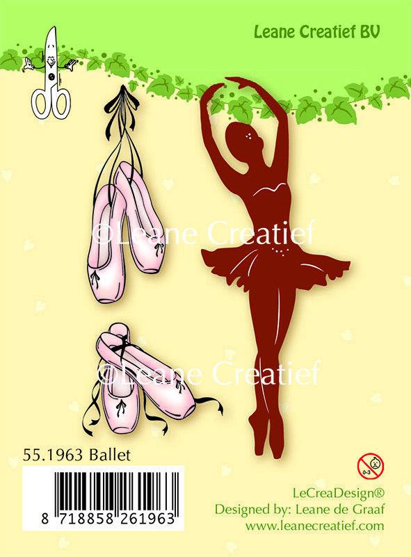 Set 3 TIMBRI ballerina clear stamp Ballet dancer timbro ballerine scarpette d 293046578937