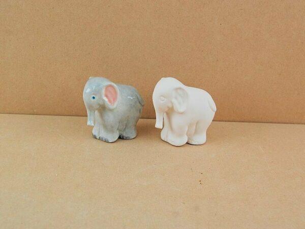 Statuina in ceramica biscotto bianco elefante da dipingere decorare elephant 293576133247